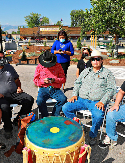 Northern Arapaho Drum Group