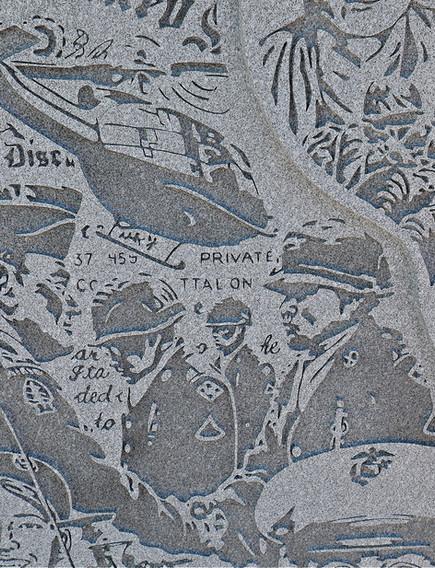 Memorial Etchings in Stone