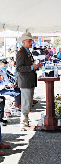 Governor Mark Gordon at Podium