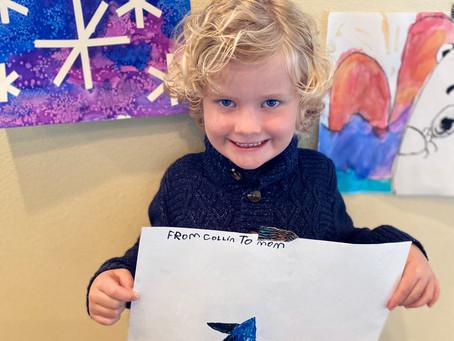 Student Spotlight: Collin, LVES Kindergarten Student