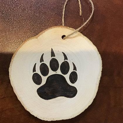 Ornament: Small Bear Paw