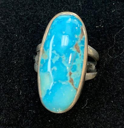 #57 Morenci Turquoise Ring