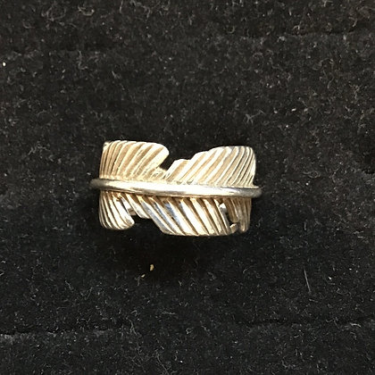 #47 Eagle Feather Ring