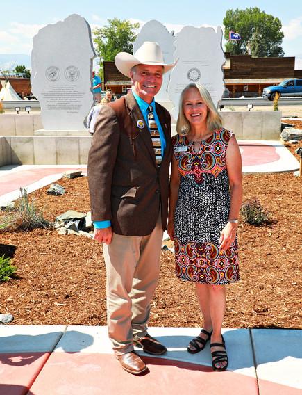 Governor Mark Gordon and Senior Cheney Staffer