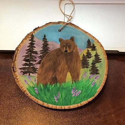 Ornament: Bear In Meadow