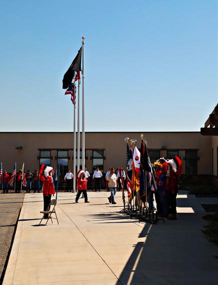 Color Guard, Honor Guard, Flags