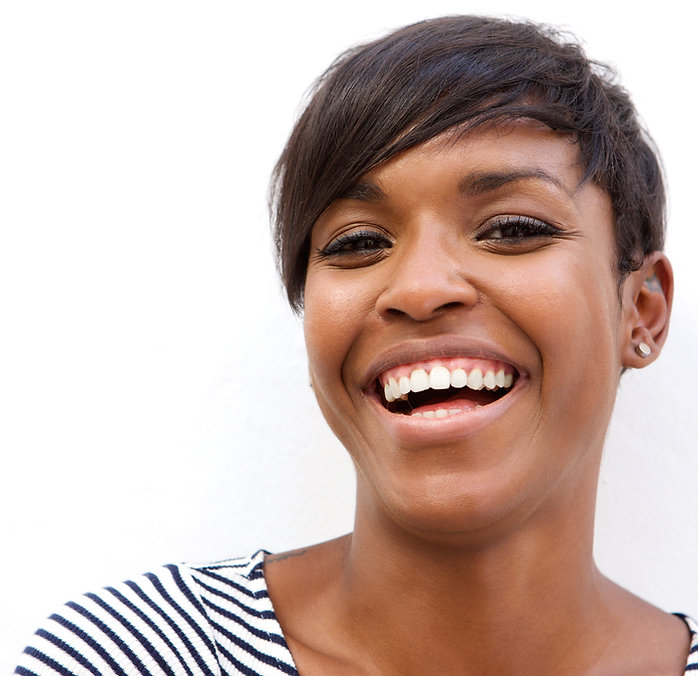 Beautiful-african-american-woman-laughin