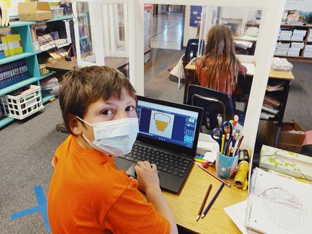Student Spotlight: Thomas, EBES 5th Grade Student