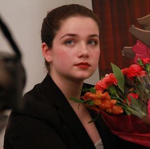 The wonderful Adèle Marie-Alix, poised a