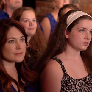 """Maggie Shirk (Macy) and Adèle Marie-Alix (Gabrielle), in a still from """"Gabrielle"""" ©Jon Reino"""
