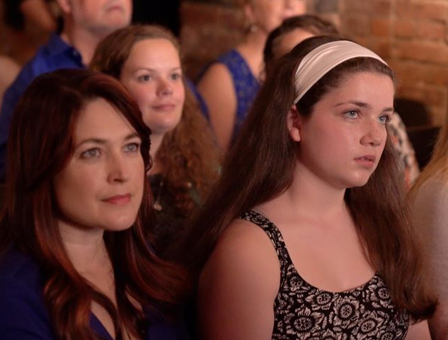 "Maggie Shirk (Macy) and Adèle Marie-Alix (Gabrielle), in a still from ""Gabrielle"" ©Jon Reino"