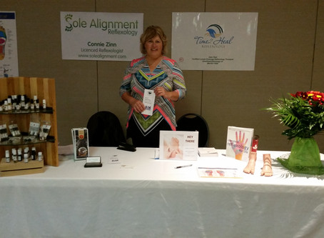 50 plus trade show with Joan Heal