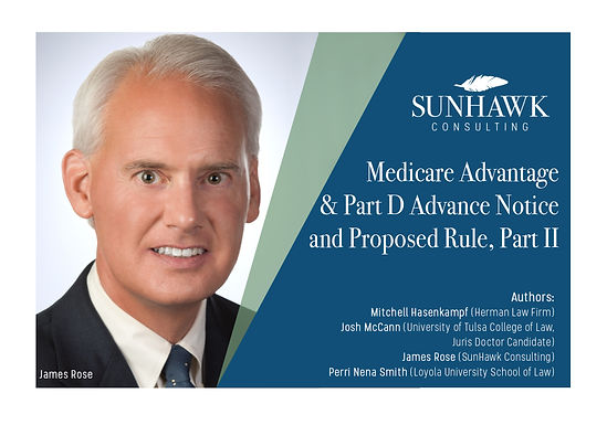 Medicare Advantage and Part D Advance Notice and Proposed Rule