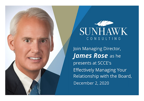 SCCE's Effectively Managing Your Relationship with the Board Virtual Conference