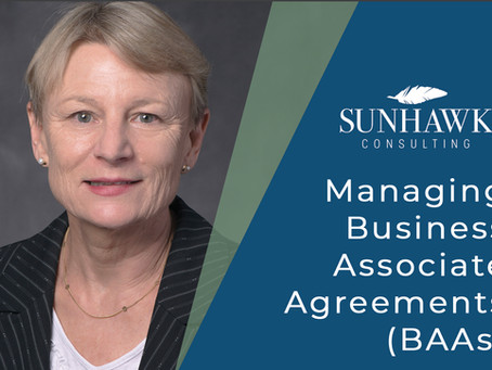 Managing Business Associate Agreements (BAAs)