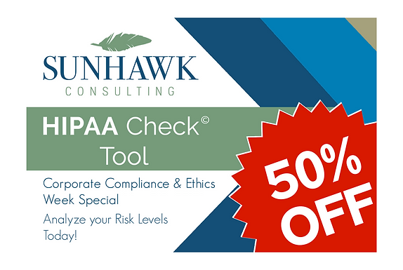 Compliance & Ethics Week 2020: Special Discount on HIPAA Check Tool!