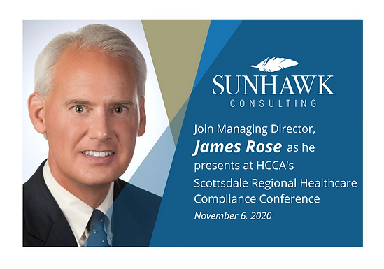 Scottsdale HCCA Regional Healthcare Compliance Conference 2020