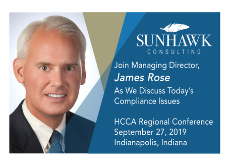 "2019 HCCA Indy Regional Conference: ""Metrics for Compliance Program Effectiveness"""
