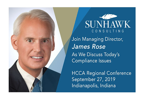 """2019 HCCA Indy Regional Conference: """"Metrics for Compliance Program Effectiveness"""""""