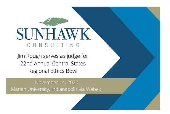 SunHawk's Jim Rough Serves as Judge at 22nd Annual Central States Regional Ethics Bowl