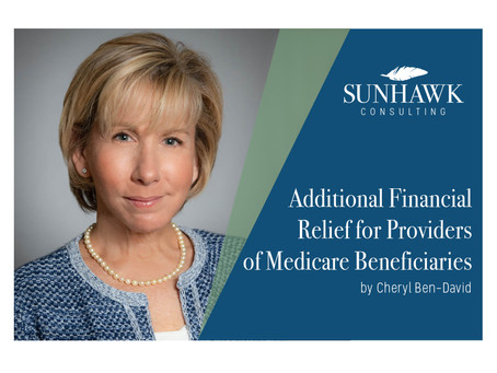 Additional Financial Relief for Providers of Medicare Beneficiaries