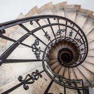 Винтовая лестница в Будапеште