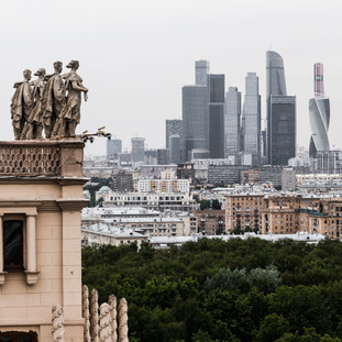 Немые хранители Москвы