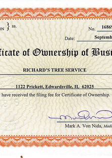 Business License (Gov page)