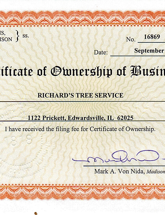 Business License (Gov page)