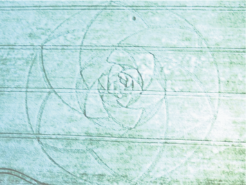 crop circle La Meditación de la Llave Mariana