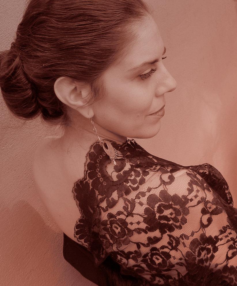 AnnaMaria Cardinalli, photo, contralto opera singer, legendary guitarist