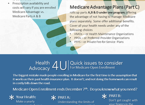 Medicare's Cheat Sheet: The basics and a couple of tips to get you started.