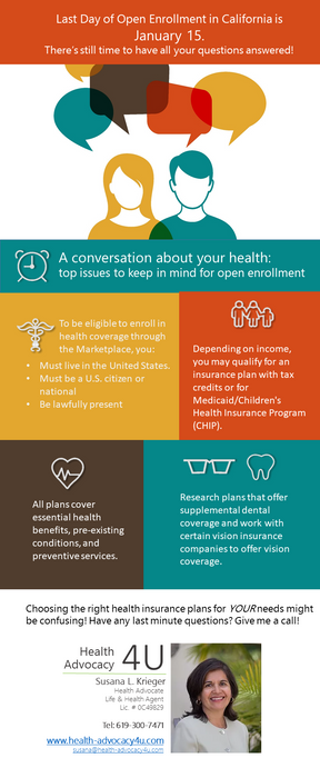Your Health is a must.  Have you enrolled?