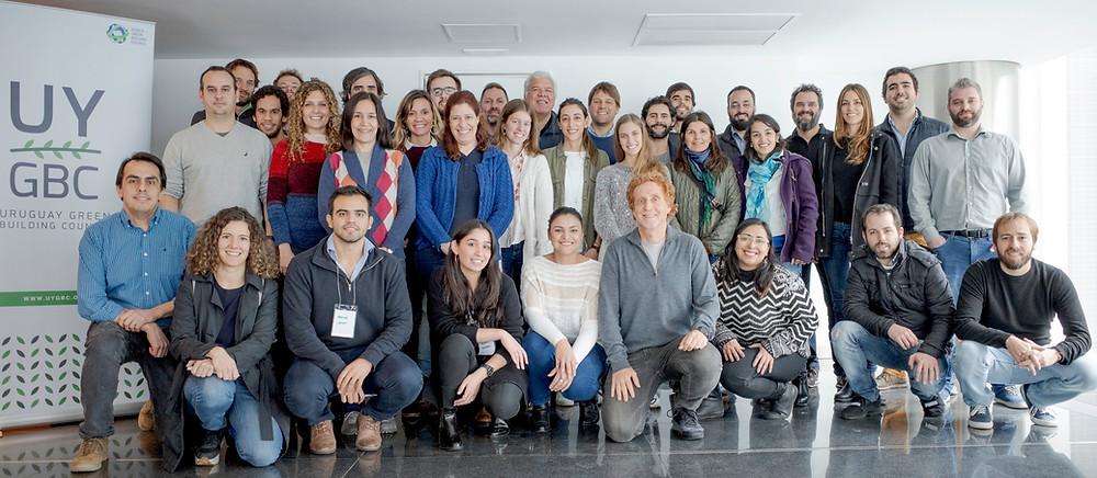 Participantes del workshop de eficiencia energética en WTC Torre 4
