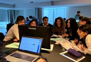 "Grupo verde del ""workshop"" de eficiencia energética"