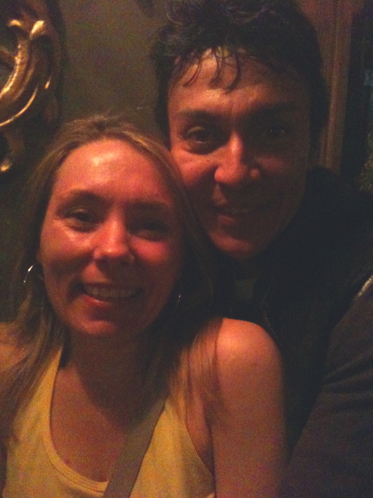 Eve meets Beto in London, 2011