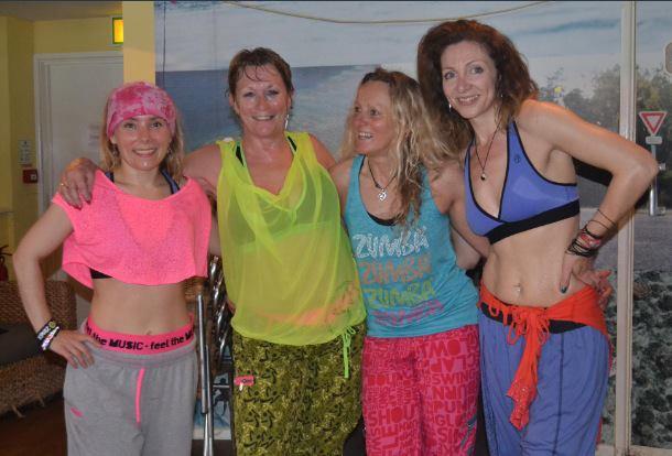 Zumba Newquay Crew Fistral Fun