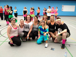 80s Zumba Party for Shelter Box