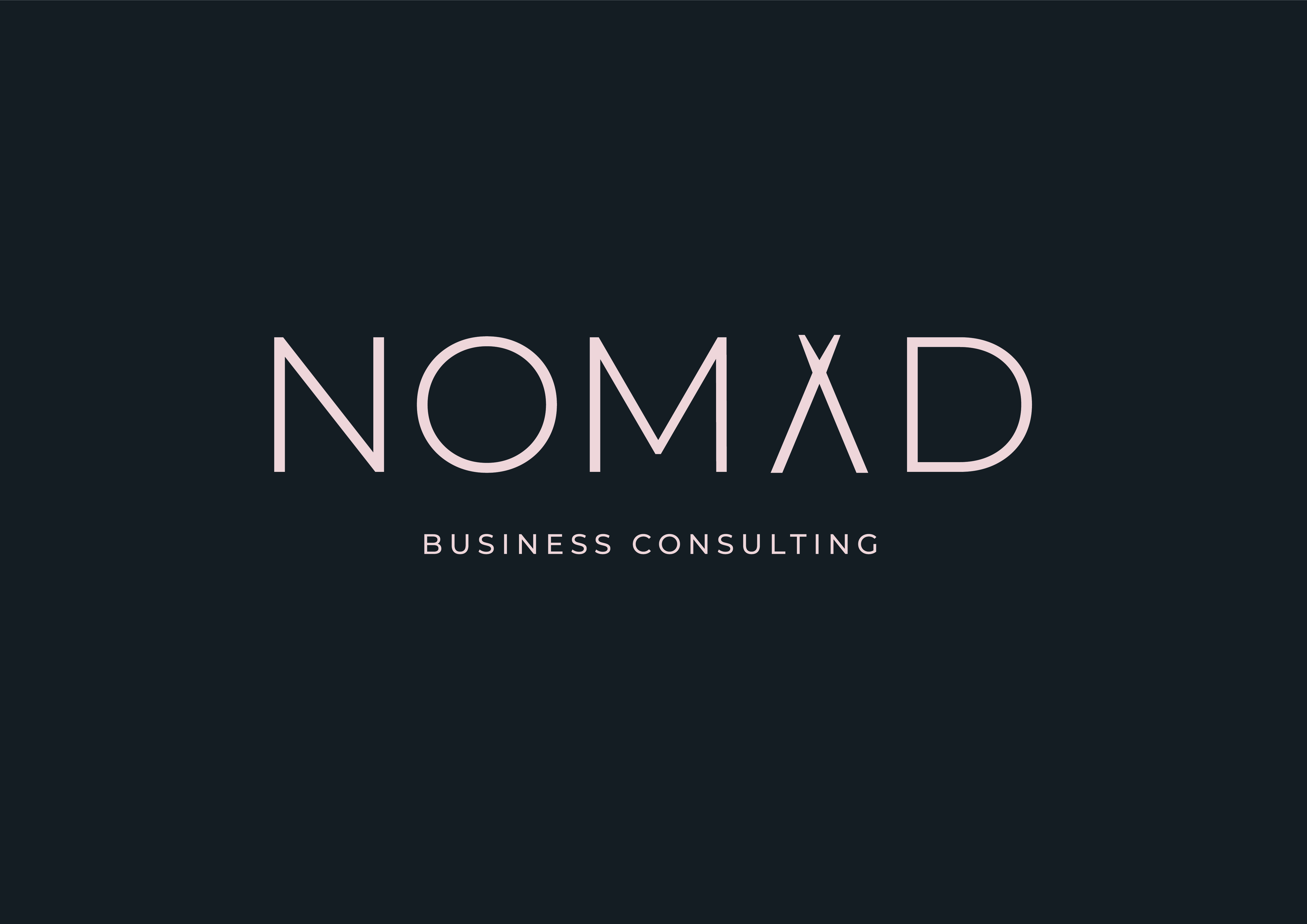 Nomad Consulting Brand Identity
