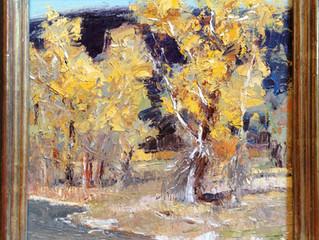 """""""October Cottonwoods"""""""