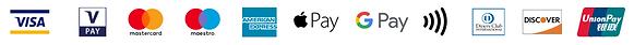 payment method logo strip