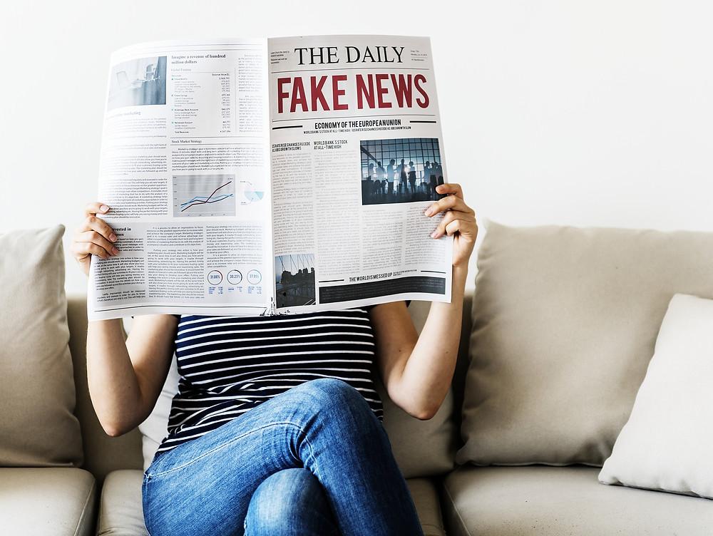 Reading fake news