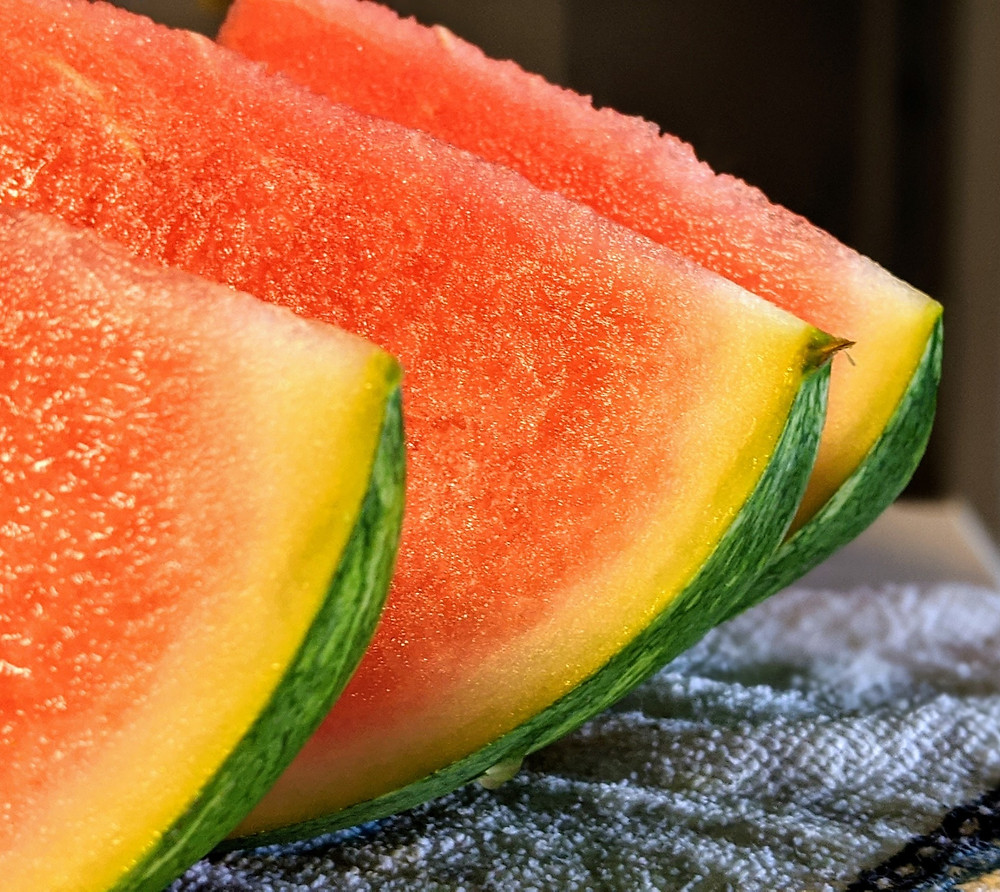 Slices of water melon