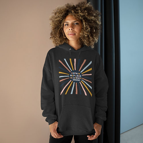 3 R's Unisex EcoSmart® Pullover Hoodie Sweatshirt