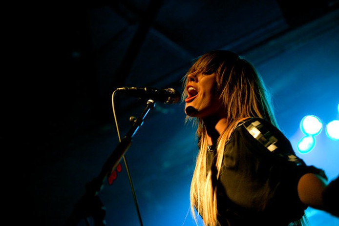 Grace Potter performs at the Beaumont Cl