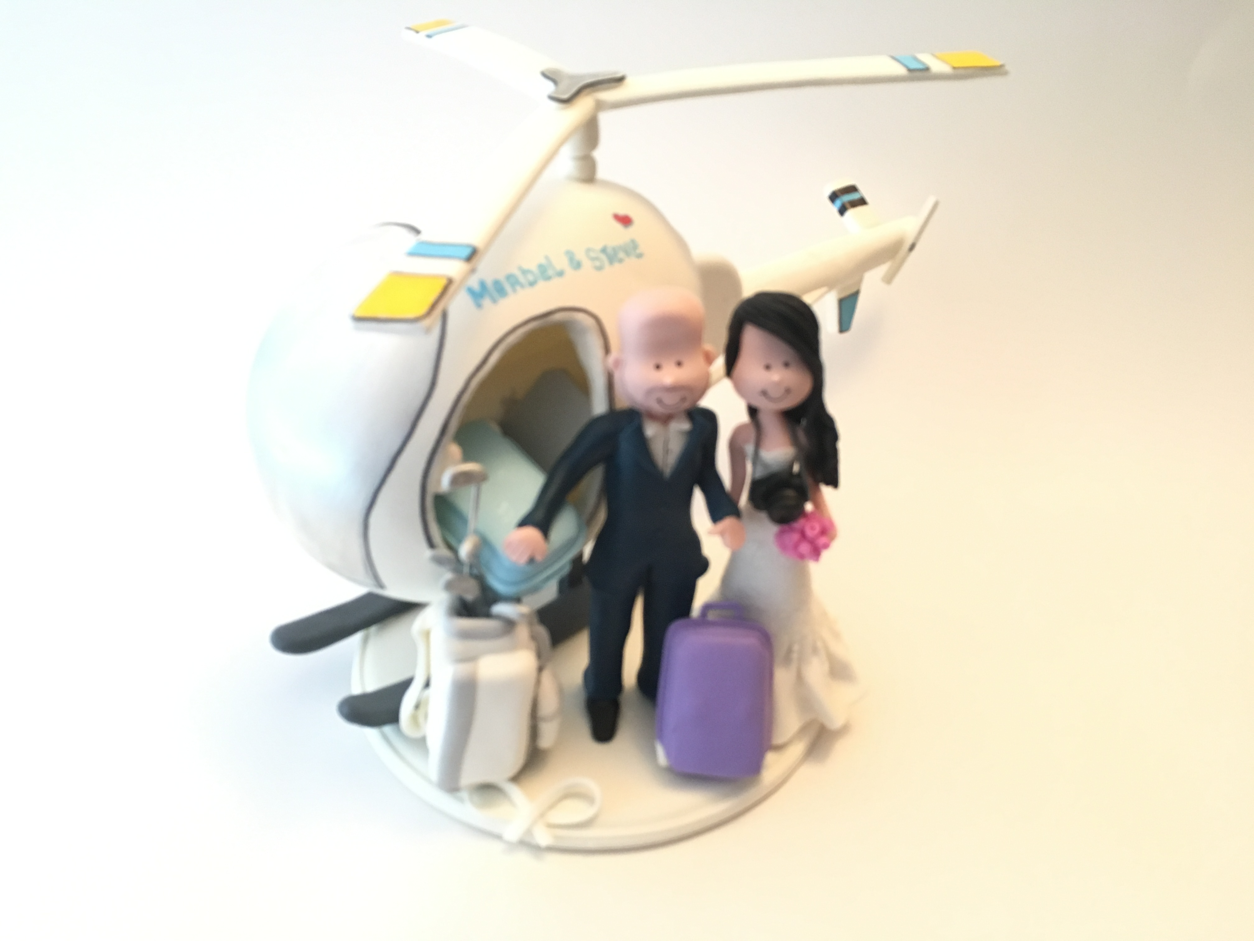 wedding-cake-topper-helicopter