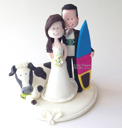 wedding-cake-topper-funny-cow-surf