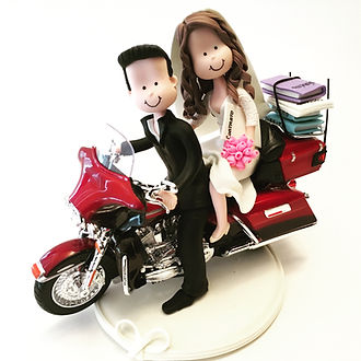 Wedding Cake Topper Motorcycle 14