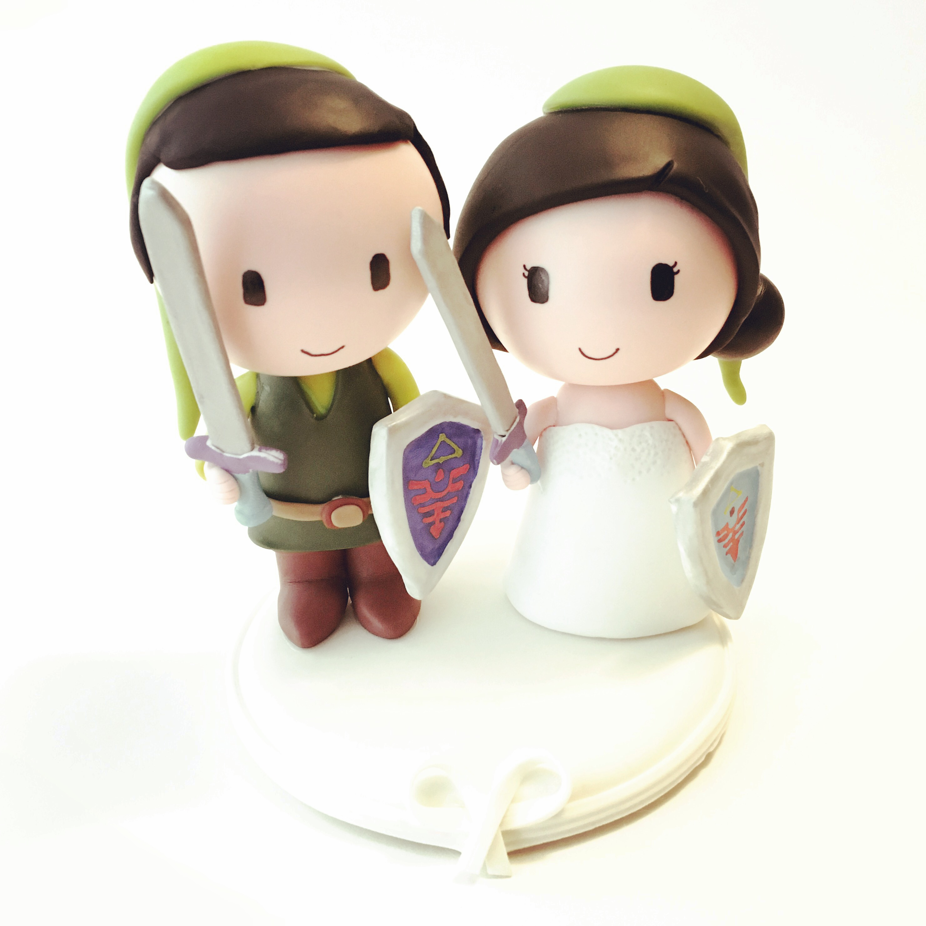 wedding cake topper zelda legend 2
