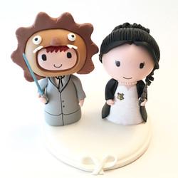 wedding_cake_topper_lion_jedi_hogward_harry_potter